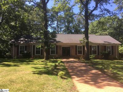 Anderson Single Family Home For Sale: 104 Regent