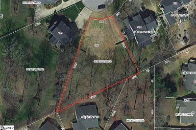 Taylors Residential Lots & Land For Sale: 117 Cosgrove
