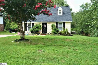 Simpsonville Single Family Home For Sale: 407 W Yellow Wood