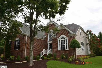 Simpsonville Single Family Home For Sale: 406 Heather Falls