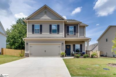 Simpsonville Single Family Home For Sale: 5 Chestnut Grove