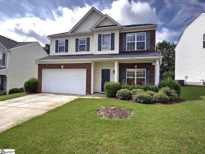 Greer Single Family Home For Sale: 412 Chartwell