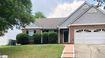 Simpsonville Single Family Home For Sale: 122 W Fall River