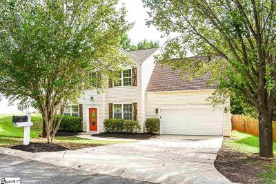 Boiling Springs Single Family Home For Sale: 219 Silverbell