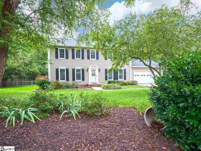 Simpsonville Single Family Home For Sale: 603 Harness