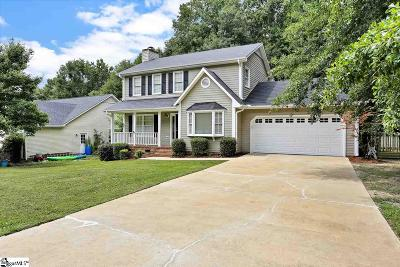 Simpsonville Single Family Home For Sale: 26 Staffordshire