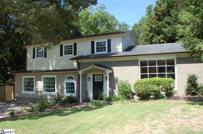 Greenville SC Single Family Home For Sale: $235,000