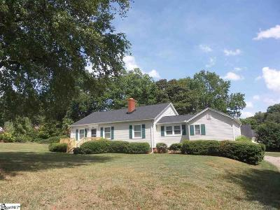 Greenville Single Family Home For Sale: 1228 Rutherford