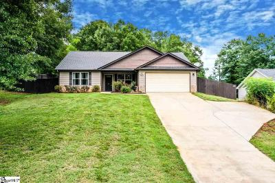 Simpsonville Single Family Home For Sale: 109 Redcoat