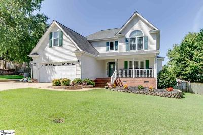 Simpsonville Single Family Home For Sale: 409 Two Gait