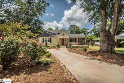Greenville Single Family Home For Sale: 1805 N Main