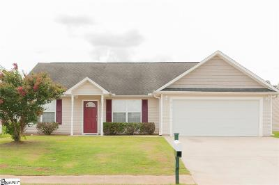 Spartanburg Single Family Home For Sale: 410 Bentridge