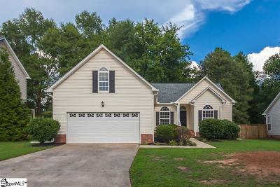 Mauldin Single Family Home Contingency Contract: 114 Golden Crest