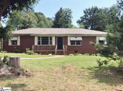 Greenville SC Single Family Home For Sale: $74,900