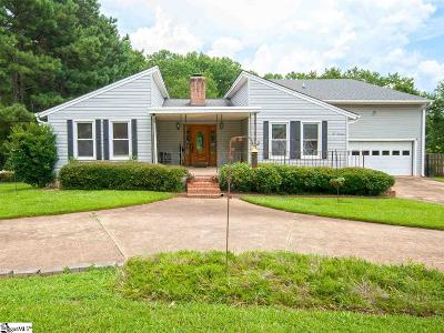 Simpsonville Single Family Home For Sale: 1019 Harness