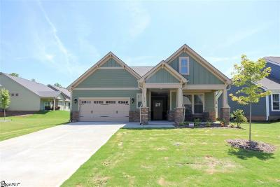 Simpsonville Single Family Home For Sale: 416 Longfellow