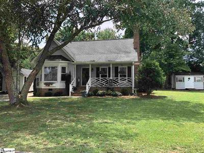 Easley Single Family Home Contingency Contract: 300 Creek
