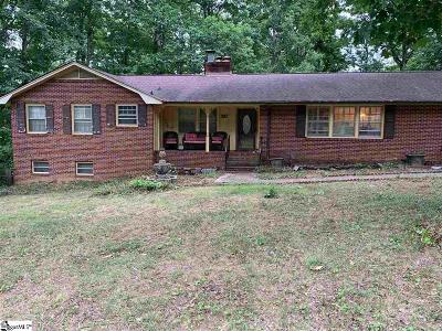 Greenville SC Single Family Home For Sale: $180,000
