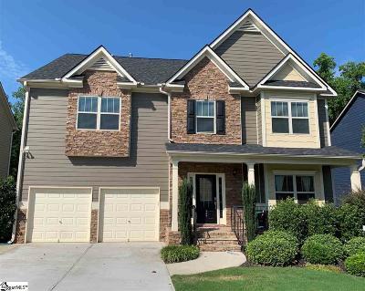 Simpsonville Single Family Home For Sale: 347 Bridge Crossing