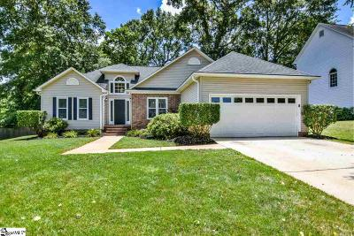 Greenville Single Family Home For Sale: 105 Canvasback