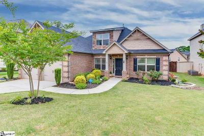 Simpsonville Single Family Home For Sale: 37 Lazy Willow