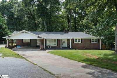 Spartanburg Single Family Home For Sale: 122 Holly