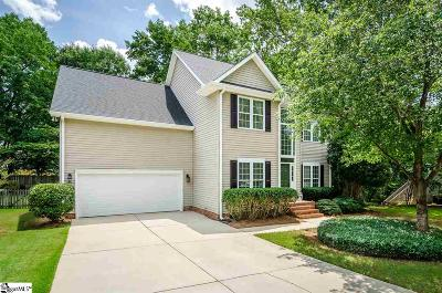 Simpsonville Single Family Home Contingency Contract: 5 Summercrest