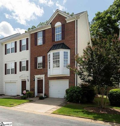 Simpsonville Condo/Townhouse For Sale: 45 Heritage Oak
