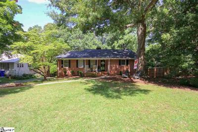 Greenville SC Single Family Home For Sale: $349,900