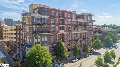 Greenville SC Condo/Townhouse For Sale: $750,000