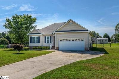 Fountain Inn Single Family Home Contingency Contract: 6 Duck Pond