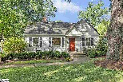 Greenville SC Single Family Home For Sale: $335,000