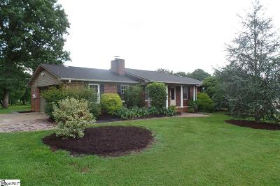 Easley Single Family Home For Sale: 209 Hickory