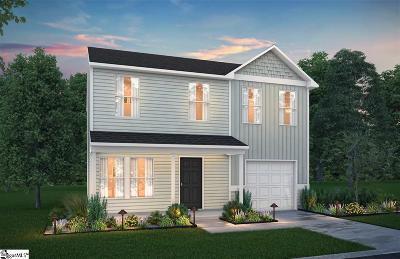 Spartanburg Single Family Home For Sale: 187 Bennett Dairy