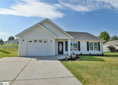 Fountain Inn Single Family Home Contingency Contract: 1705 Morning Meadow