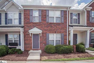 Greenville County Condo/Townhouse For Sale: 205 Spring Crossing