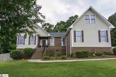 Simpsonville Single Family Home For Sale: 117 Ladson Lake