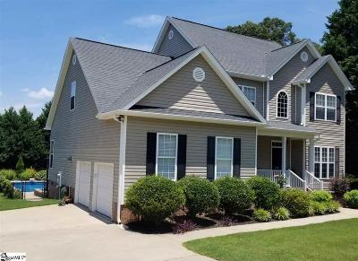 Easley Single Family Home For Sale: 408 Planters Walk