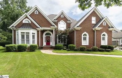 Simpsonville Single Family Home For Sale: 3 Cardiff