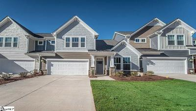 Mauldin Condo/Townhouse For Sale: 113 Parkland #Lot 40
