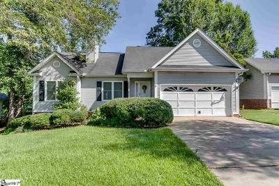 Fountain Inn Single Family Home Contingency Contract: 3 Flannery