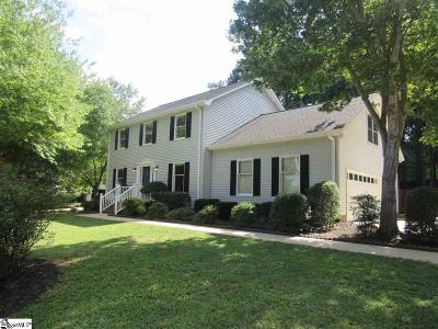 Simpsonville Single Family Home For Sale: 714 N Almond