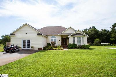 Inman Single Family Home For Sale: 172 Crow