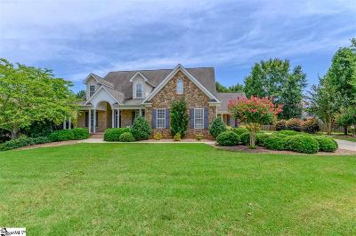 Simpsonville Single Family Home For Sale: 109 Hillstone