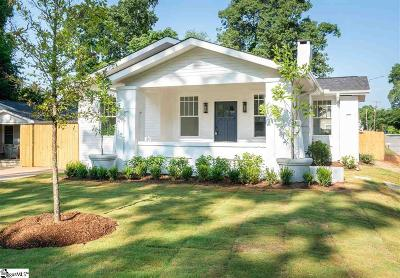 Greenville SC Single Family Home Contingency Contract: $299,900