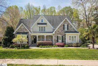 Simpsonville Single Family Home For Sale: 6 Sycamore Ridge