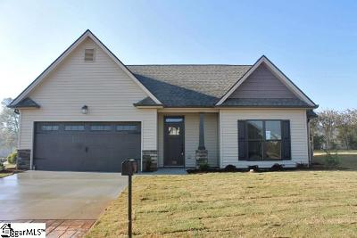 Pelzer Single Family Home Contingency Contract: 819 Palmetto Station