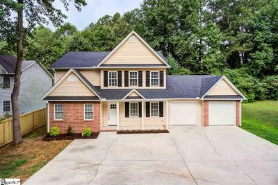 Mauldin Single Family Home Contingency Contract: 18 Chelseabrook