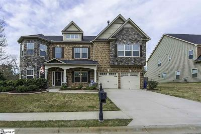 Simpsonville Single Family Home For Sale: 1 Knights Valley