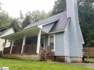 Travelers Rest Single Family Home For Sale: 203 West
